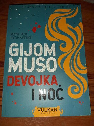 Nova knjiga;Gijom Muso-devojka i noć