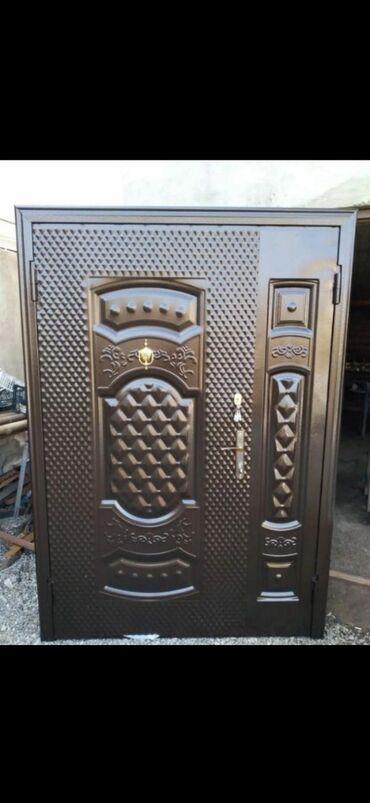 Дом и сад - Масазыр: Двери | Сейф, Железо | Азербайджан | Гарантия, С рамой, С замком