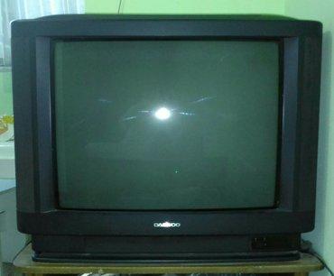 Телевизор DAEWOO оригинал Корея, большой 63 см диагональ, в отл рабоче в Бишкек