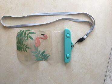чехол-с-мишкой в Кыргызстан: Водонепроницаемый чехол с фламинго размер: 16x10 см