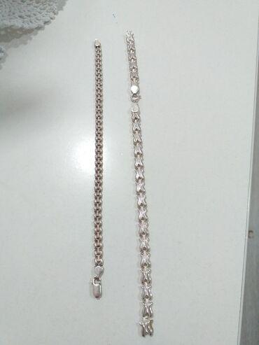 Nakit | Beograd: Prodajem dve srebrne narukvice, potrebna je popravka. :-)