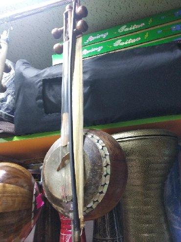 цыганские музыкальные инструменты в Азербайджан: Kamança sədəfli professional alət