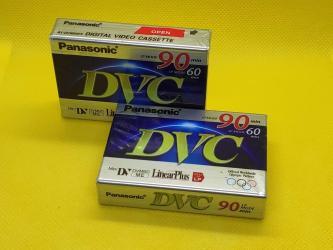 TV/video üçün aksesuarlar Bakıda: Yeni MiniDV Panasonic AY-DVM 60 FFНовые видеокассеты MiniDV Panasonic
