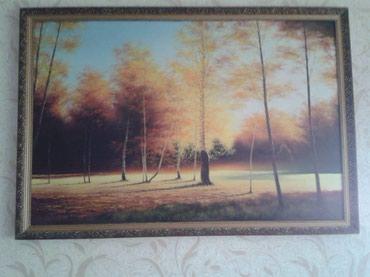 Картина, авторская работа, размеры 1,28м × 0,88 м в Бишкек