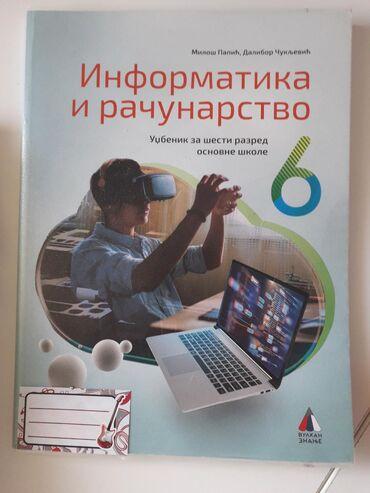Udžbenik za informtiku i računarstvo za 6. razred osnovne škole