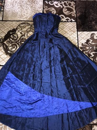 заказать корсет для талии в Кыргызстан: Платье  Одето на выпускной  Верх с корсетом  Отлично подчеркивает тали