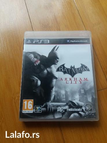 Manchester city - Srbija: Batman Arkham City - igrica za PS3. igrica kao nova,u original