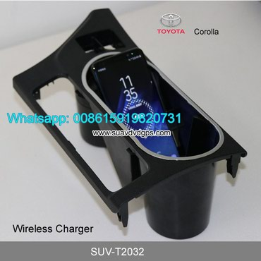 Toyota Corolla Car QI wireless charger quick charge fast wireless in Kathmandu