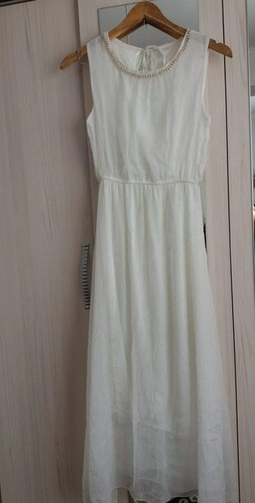 Белое шифоновое платье,44-46р в Бишкек