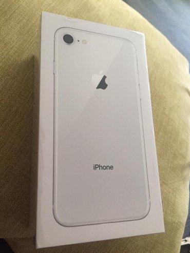 iPhone 8 Silver Noviy ne ispilzvoniy в Душанбе