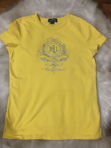 Ralph lauren - Srbija: Ralph Lauren original majica, XS velicina, prelepa zuta boja, nosena