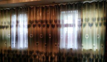 Продаю шторы. Состояние отличное. Длина карниза 5м. Размеры каждого