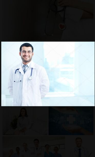 Мода, красота и здоровье в Токмак: Медицинские услуги на дому инъекции в/в в/м измерения ад