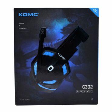 Наушник-гарнитура KOMC G302, 2м