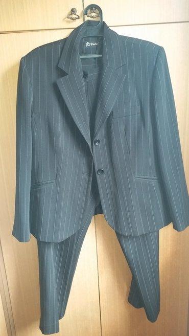 Zenski komplet sako-pantalone 46 velicina, ramena 48, grudi 116, - Kraljevo