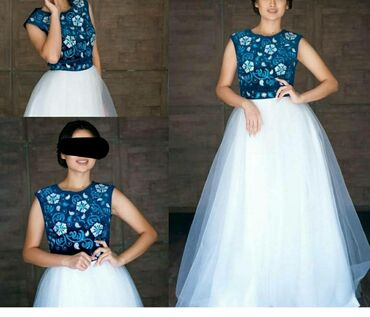 14 объявлений: Продаю новое нарядное платье в национальном стиле. Натуральный бархат