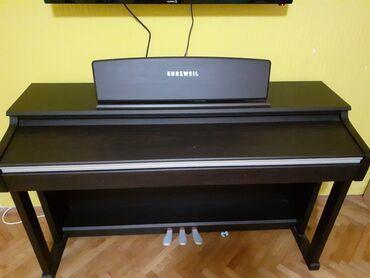 Klavir - Srbija: Elektricni klavir kurzweil, veoma malo koriscen, nema nikakvih