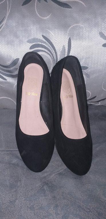 туфли чёрные замшевые в Кыргызстан: Продаю туфли замшевые размер 37