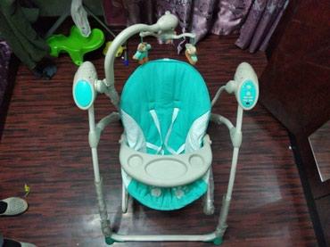 Продается детская люлька + шезлонг + мобиль Состояние отличное. в Бишкек