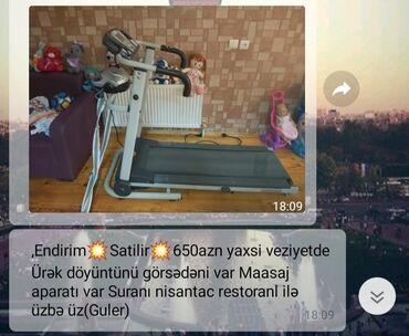 İdman və istirahət Ceyranbatanda: Qaçış trenajorları