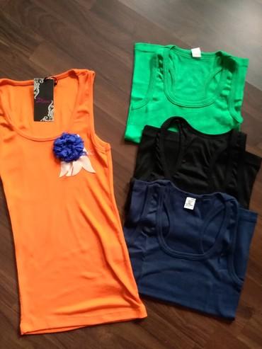 Atlet majice - Srbija: Ženske atlet majice- Novo. Na stanju narandžasta i zelena