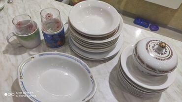 Продаю посуду б/у советскую но в хорошем состоянии. 6 полуглубоких8