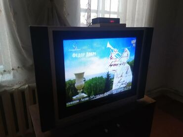атласное платье со шлейфом в Кыргызстан: Продам телевизор. Диагональ 69см. Ширина 86см, высота 61см, глубина