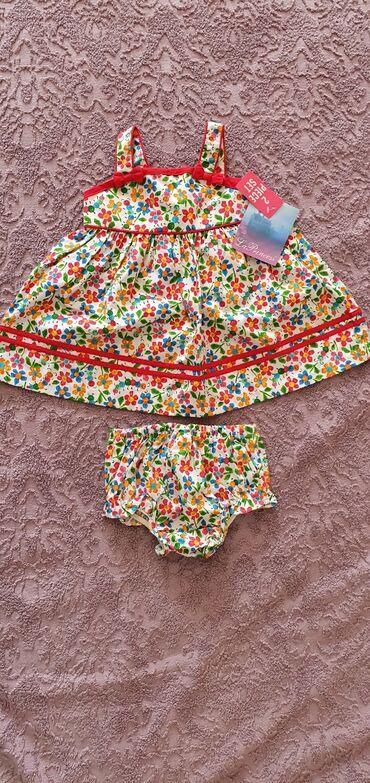 трусики карандаши в Кыргызстан: Платье с трусиками новое с этикеткой из США. 3-6 мес