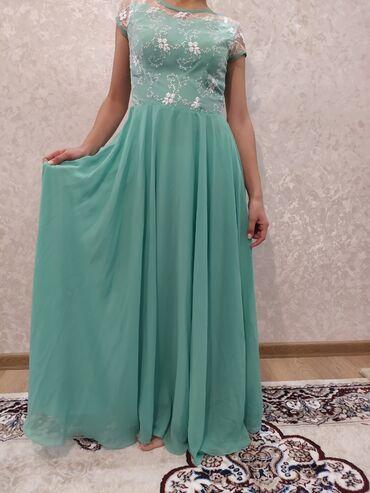 вечернее зеленое платье в Кыргызстан: ///ПРОДАЕТСЯ///Платье вечернее.Цвет: бирюзовый, ярко зелёныйЦена 2000