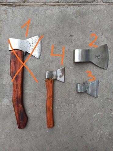 Инструменты - Кыргызстан: Топоры советские:2) топор длина лезвия 14 см 3) топор длина