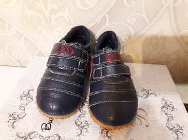 Кожанные,первые шаги малыша 19 размер. Идеальное состояние. в Бишкек