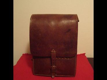 Kozna torba iz perioda NOB-a 1941-1943 godine,mogucnost nosenja sa - Belgrade