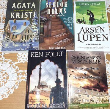 Krimi komplet- 5 nekorišćenih knjiga