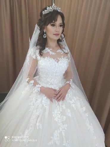 Свадебные платья - Токмак: Прокат свадебного платья в стоимость все включено Макияж в подарок