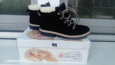 Dečija odeća i obuća   Batajnica: Duboke cipele postavljene krznomperfektne, izuzetno tople i