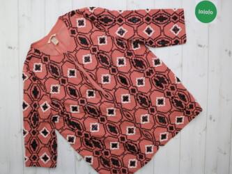 Шикарная женская блуза с узором H&M,р.M         Длина: 71 см Рукав