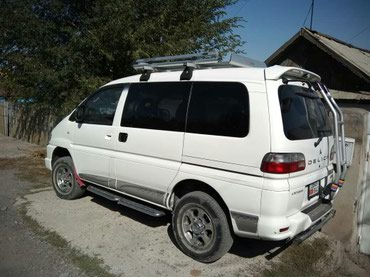 Пассажирские перевозки на Mitsubishi Delica в Бишкек