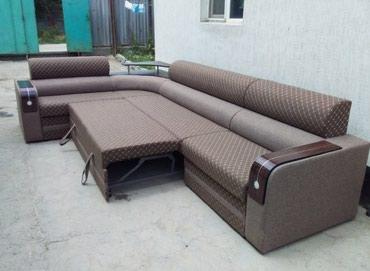 Новый мягкий угловой диван доставка по городу бесплатно в Бишкек