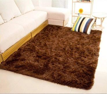 Такой меховой коврик можно постелить в Бишкек