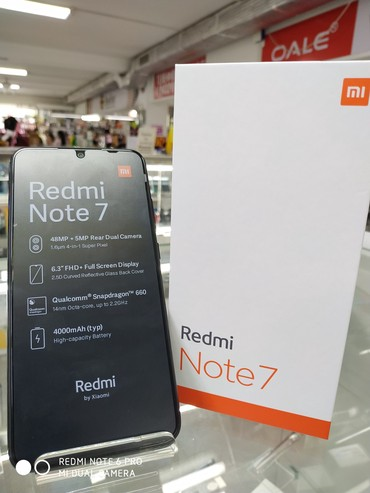 Redmi note 7 (3/32),(4/64),(4/128) в Бишкек