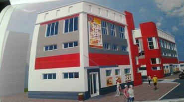 Сдаются торговые площади в новом здании на Ошском-рынке. Здание новое в Бишкек