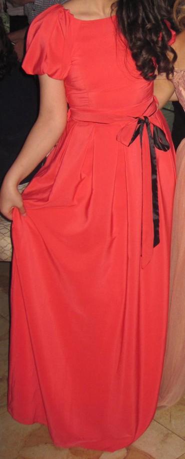 женские вечерние туфли в Азербайджан: Продаю вечернее платье.Одевалось всего один раз на Выпускной вечер