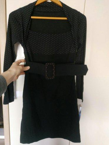 Amisu Crna haljina, broj 36 / S