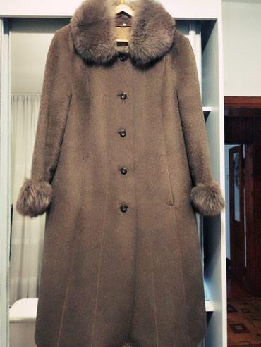 Пальто - Кок-Ой: Пальто лама немецкое качество. Состояние отличное. Размер 54