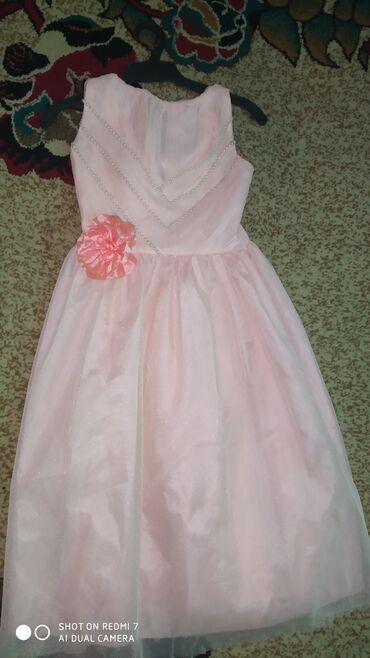 Красивое платье на девочку 7-9 лет в новом состояние за 3 кг порошка