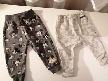 Dečija odeća i obuća - Gornji Milanovac: Donji delovi Mickey 500 Zara 400 Veličine fotografisane