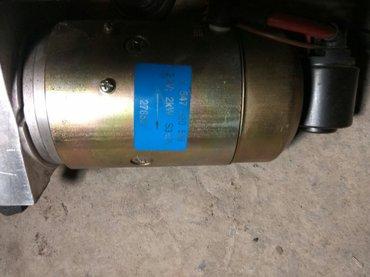 Гидравлический насос Mersedes Benz  на подъемную лопату 24 вольт  в Кант