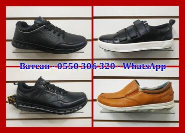 купить женскую обувь недорого в Кыргызстан: Распродажа Ecco мужская обувь кроссовки ботинки натур кожа Экко на