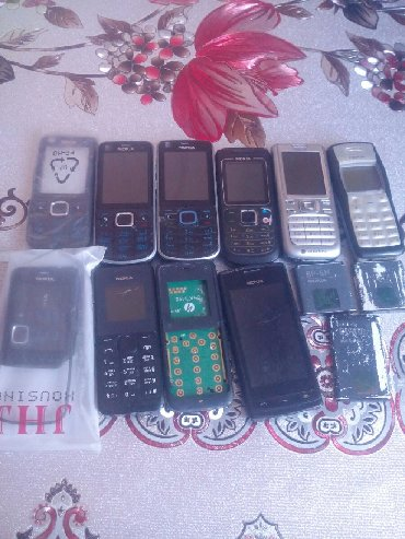 Чехлы в Азербайджан: Nokia telefonları ehdiyat hissəsi