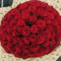 Собираем 101 розу от 27 сом. цены вас в Бишкек